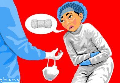 Kako su zdravstvene radnice koji se bore protiv koronavirusa u Kini razbile tabu menstruacije